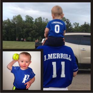 Child Softball Jersey Shirt